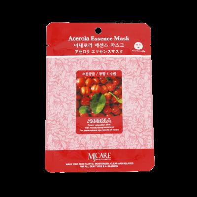 Маска тканевая для лица Mijin Essence Mask Acerola ацерола