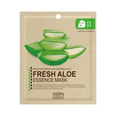 Mijin New Маска тканевая для лица с алоэ Aloe Essence Mask