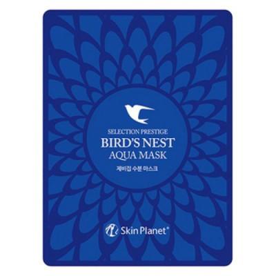 Mijin Маска тканевая для лица с ласточкиным гнездом Selection Prestige Bird's Nest Aqua Mask